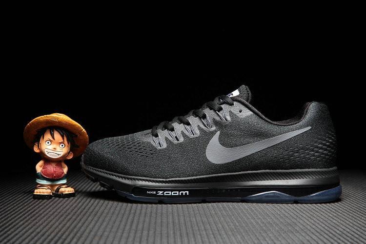 耐克男鞋nike zoom 运动鞋女鞋网面透气子母气垫跑步鞋男女鞋