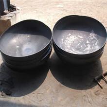 供应优质Q345B国标封头管帽焊接厚壁钢管管帽加工图片