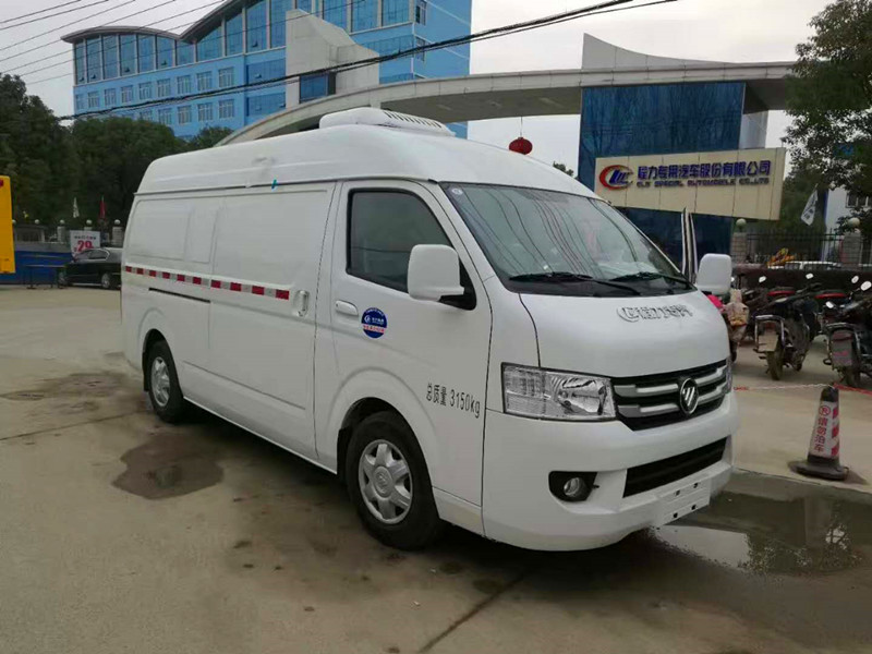 福田G7面包型疫苗冷藏车国五标准全国可上牌
