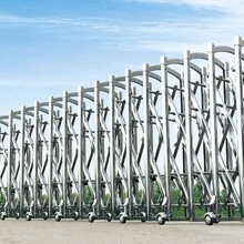 天津紅橋區伸縮門圖片