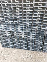 镀锌带凹槽管厂家-锌钢凹槽管生产厂家图片