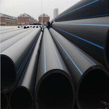 (自來水)江蘇無錫pe鋼絲骨架管/給水管小區外網管¥圖片