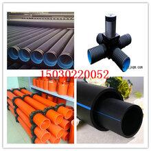 北京房山(饮水标准)pe管钢丝骨架管160质量保证图片