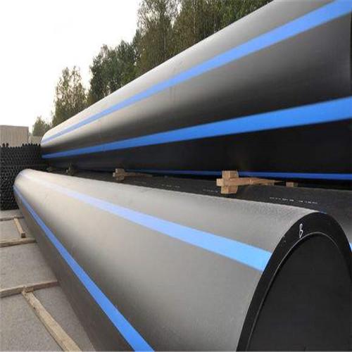 快推曹妃甸HDPE聚乙烯710给水管可靠连接