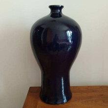 今年明代霁蓝釉梅瓶的价格走势图片