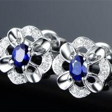 近年的蓝宝石耳环成交价是多少图片