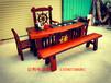 老船木实木家具船木中式功夫茶桌茶几茶台船木沙发