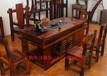 老船木茶几简约实木大板茶桌椅组合茶台船木沙发