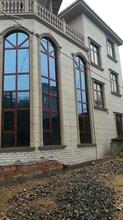 湖南铝合金门窗断桥平开窗阳光房厂家图片