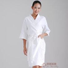 酒店浴袍美容院客人浴衣按摩服訂做浴袍圖片