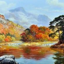 一般油畫價格高嗎?油畫的價格一般是多少錢?圖片
