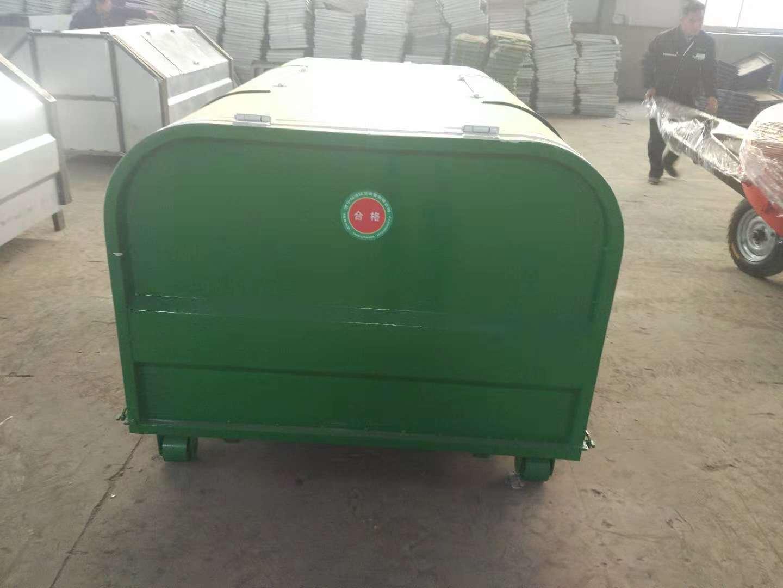 南川-户外垃圾箱-铁皮垃圾箱价格-价格优惠