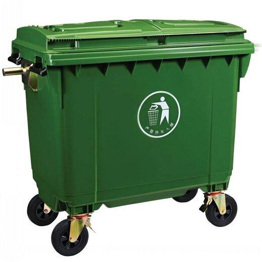 山東省小區鍍鋅垃圾箱生產廠家