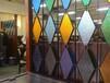 佛山金筑达装饰玻璃304金属屏风古典风格不锈钢屏风隔断