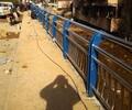 金属桥梁护栏山东省济南市人行道护栏施工