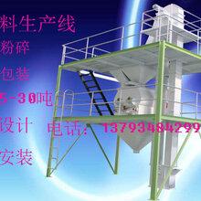 上海地区双鹤机械供应饲料加工设备饲料颗粒机成套饲料生产线图片