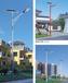 太陽能LED路燈一體化樣式高度定制鍍鋅桿防銹