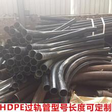 鍍鋅過軌管A熱浸塑過軌管AHDPE過軌鋼管廠家圖片