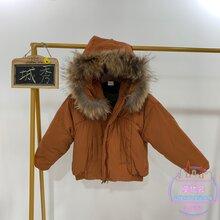 19新款(城秀唛咖啦)冬款加厚新款羽绒服品牌童装折扣批发