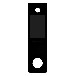 3.5寸人脸识别智能门锁深圳触摸屏厂家生产电容式触摸屏