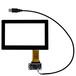 东莞触摸屏厂公模工控平板通用7寸-32寸USB接口防水防油电容触摸