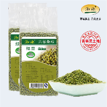供應東北特產有機商品綠豆17年新豆圖片