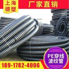 上海厂家供应碳素管PE穿线波纹管图片
