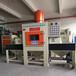 自動噴砂機供應江門氧化廠用鋁制品輸送噴砂機