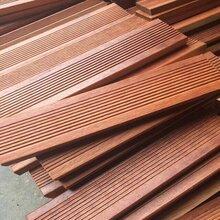 进口印尼菠萝格板材供应商菠萝格防腐木地板料工程