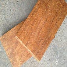 菠萝格圆柱什么价格户外防腐木木条方工程