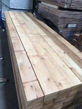 正宗红雪松建筑木条方古建料红雪松碳化木圆柱
