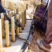 中德新亚高强聚合物砂浆,灌浆料防水图片