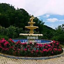 人造砂巖廠家直銷歐式砂巖噴泉雕塑西方裝飾噴泉擺件圖片