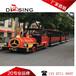 杭州蕭山有軌小火車游樂設備,景區無軌小火車廠家