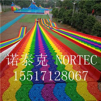 旱滑场地背阴面山体设计筹建彩虹滑道厂家