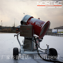 人工造雪机诺泰克造雪机滑雪场中理想机型图片