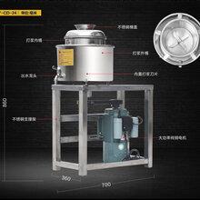 做福鼎肉片的机器皮带肉丸机小型商用多功能高速打浆机高速家用打浆机图片