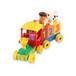 積木玩具益智3-6周歲拼裝益智6-7-8-10男孩小孩智能數字積木火車