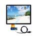 12寸電容屏深圳廠家生產USB接口電容屏人臉是被觸摸屏