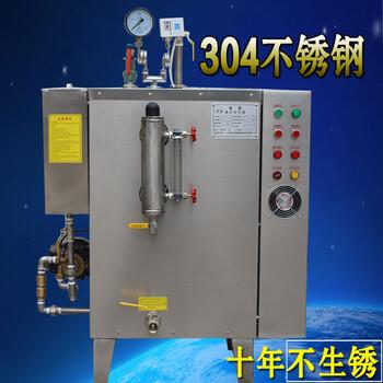 供应小型不锈钢电加热蒸汽发生器48kw全自动蒸汽锅炉