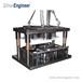 銀工機械;鋁箔餐盒生產模具、沖壓模、可定制