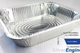 神箔包装;大容积铝箔餐盒,铝箔餐盒,铝箔容器,烤鱼盘;可定制