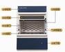 山西實驗室通風柜耐強酸強堿PP材質通風柜全鋼通風柜