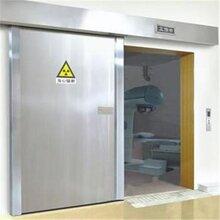 放射科铅门西安CT室铅门放射科机房射线防护工程图片