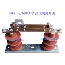 隔离开关HGW9-12户外高压10KV系列高压刀闸开关隔离开关硅胶10K图片