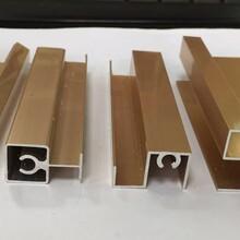 衣柜推拉移門鋁材邊框半隱全隱框鋁合金型材圖片