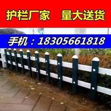 江苏镇江扬中pvc花坛护栏-护栏安装,护栏设计图片