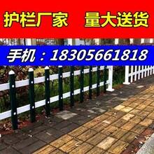 镇江扬中pvc栅栏-草坪护栏图片
