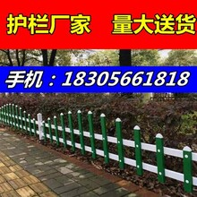 海口市龙华区护栏公司围栏厂-50公分墨绿护栏图片