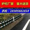 绵阳江油pvc施工围挡_木纹色护栏,墨绿色护栏